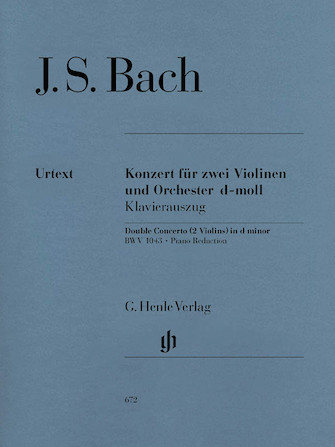 Product Cover for Concerto for 2 Violins and Orchestra in D Minor BWV 1043