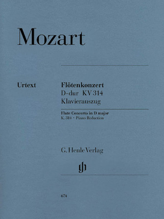 Product Cover for Concerto No. 2 in D Major, K. 314