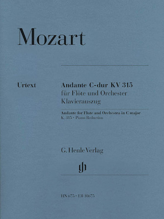 Product Cover for Andante for Flute and Orchestra C Major, K. 315