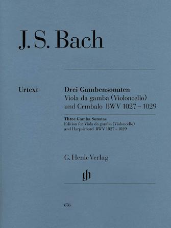 Product Cover for Sonatas for Viola da Gamba and Harpsichord BWV 1027-1029 (Version for Violoncello and Harpsichord)