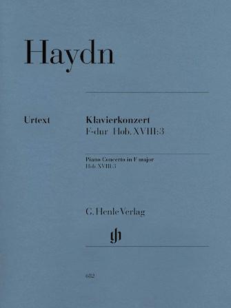 Concerto for Piano (Harpsichord) and Orchestra F Major Hob.XVIII:3