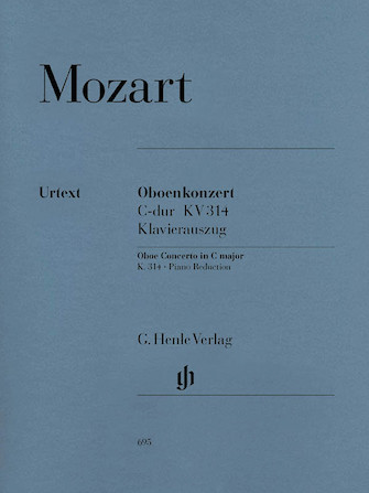 Product Cover for Concerto for Oboe and Orchestra C Major, K. 314