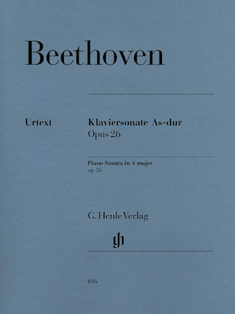 Product Cover for Piano Sonata No. 12 in A flat Major Op. 26