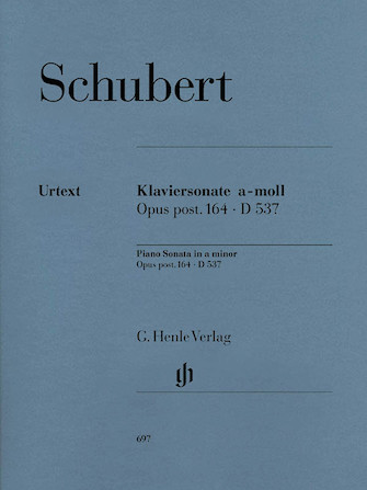 Product Cover for Piano Sonata A Minor Op. Posth. 164 D 537