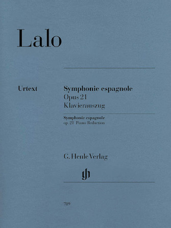 Product Cover for Symphonie Espagnole for Violin and Orchestra in D Minor Op. 21