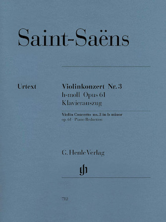 Product Cover for Concerto for Violin and Orchestra in B minor Op. 61, No. 3