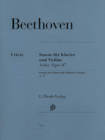 Product Cover for Sonata for Piano and Violin in A Major Op. 47 (Kreutzer-Sonata)