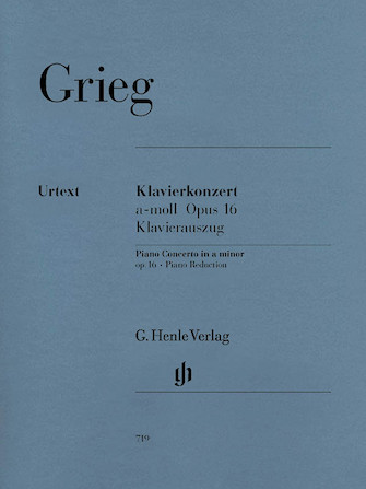 Product Cover for Piano Concerto A minor Op. 16