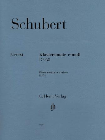 Product Cover for Piano Sonata C minor D 958