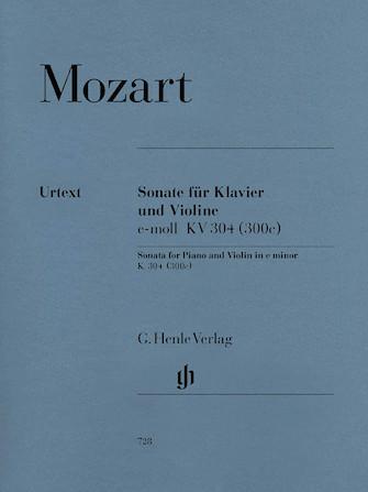 Product Cover for Violin Sonata in E Minor K304 (300c)