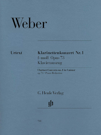 Product Cover for Clarinet Concerto No. 1 in F minor, Op. 73