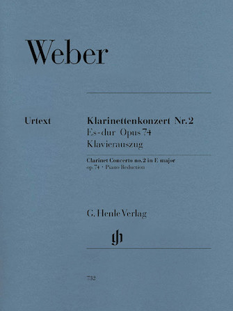 Product Cover for Clarinet Concerto No. 2 in E-flat Major, Op. 74