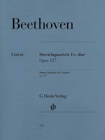 Product Cover for String Quartet E Flat Major Op. 127