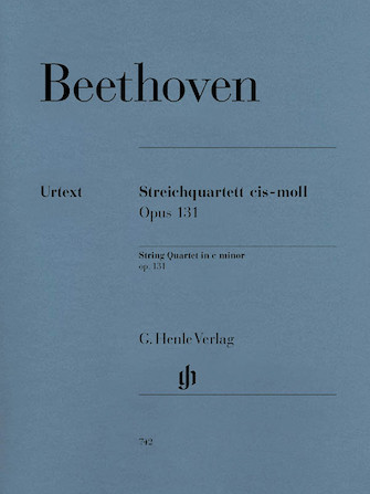Product Cover for String Quartet C Sharp minor Op. 131