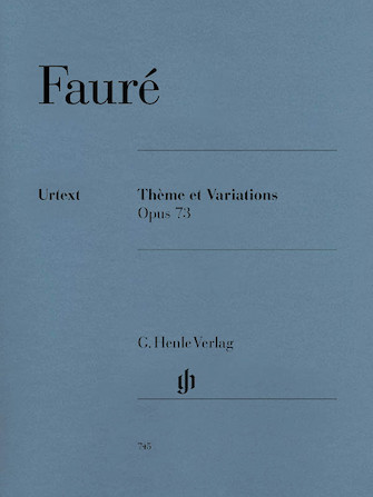 Product Cover for Thème et Variations Op. 73