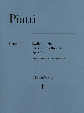 Product Cover for 12 Capricci Op. 25