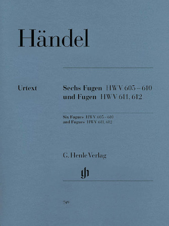 Product Cover for 6 Fugues HWV 605-610 and Fugues HWV 611 and 612