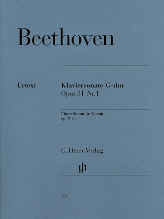 Product Cover for Piano Sonata No. 16 in G Major Op. 31