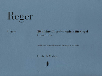 Product Cover for 30 Little Chorale Preludes for Organ Op. 135a