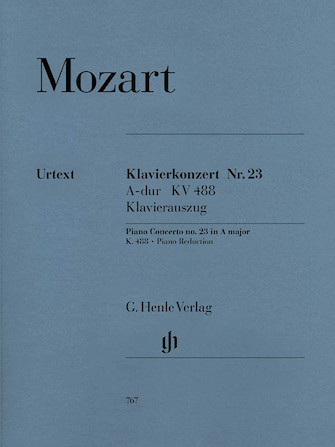 Product Cover for Concerto for Piano and Orchestra A Major K.488