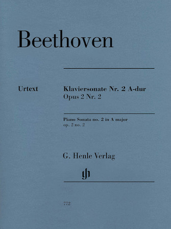 Product Cover for Piano Sonata No. 2 in A Major, Op. 2, No. 2