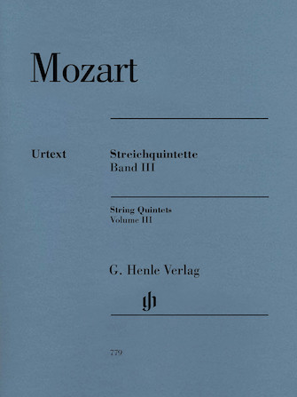 Product Cover for String Quintets: Volume III