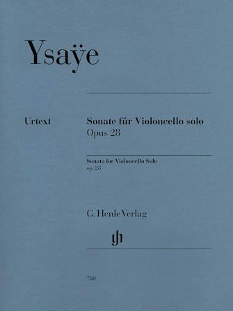 Product Cover for Sonata for Violoncello Solo Op. 28