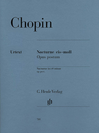 Product Cover for Nocturne in C Sharp minor Op. Posth.