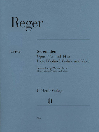 Product Cover for Serenades for Flute, Violin, and Viola Op. 77a and Op. 141a
