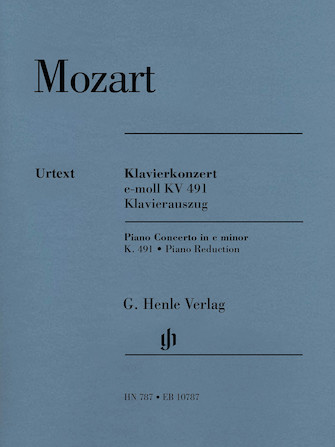 Product Cover for Piano Concerto in C minor, K. 491