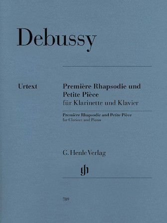 Product Cover for Première Rhapsodie and Petite Pièce