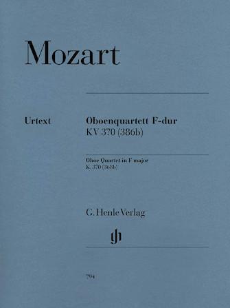 Product Cover for Oboe Quartet F Major K.370 (368b)