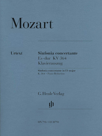 Product Cover for Sinfonia Concertante Eb Major K.364