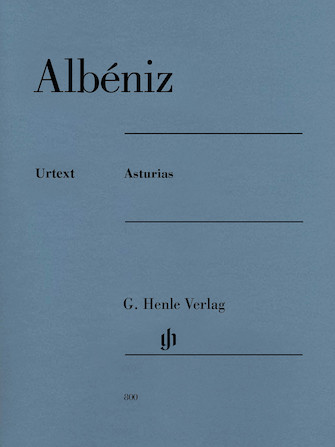 Product Cover for Isaac Albéniz – Asturias
