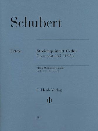 Product Cover for String Quintet C Major Op. Posth. 163 D 956