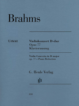 Product Cover for Violin Concerto in D Major, Op. 77