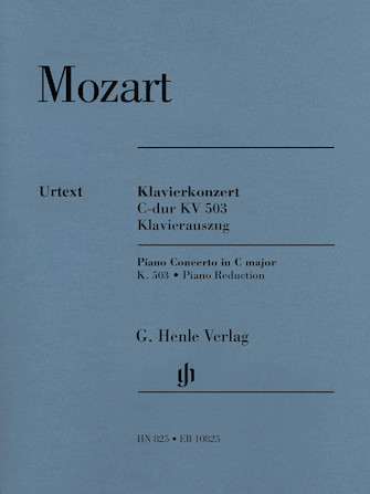 Product Cover for Piano Concerto No. 25 in C Major, K. 503