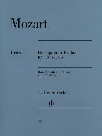 Horn Quintet in E-flat Major K. 407 (386c)