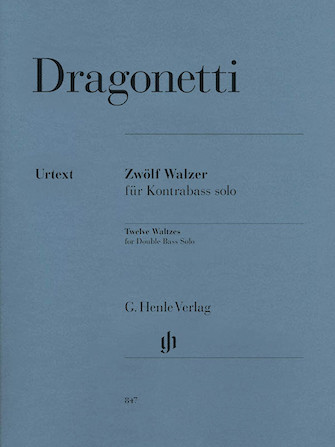 Product Cover for 12 Waltzes for Double Bass Solo
