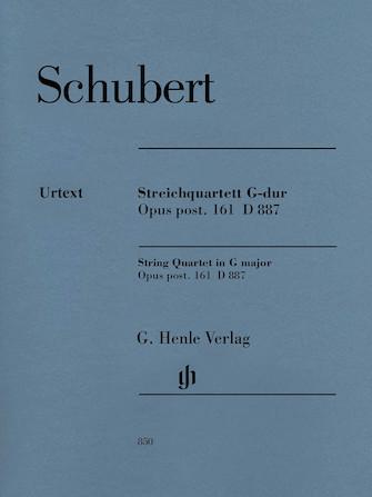 Product Cover for String Quartet in G Major, Op. post. 161 D 887