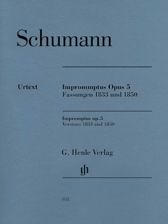 Product Cover for Impromptus, Op. 5 (Versions 1833 and 1850)