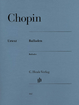 Product Cover for Frederic Chopin – Ballades