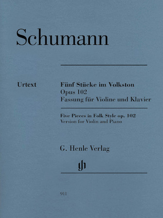 Product Cover for 5 Pieces in Folk Style, Op. 102