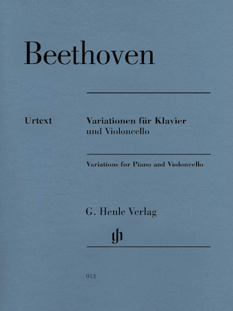 Product Cover for Variations for Piano and Violoncello