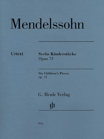 Product Cover for 6 Children's Pieces, Op. 72