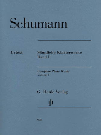 Product Cover for Complete Piano Works – Volume 1