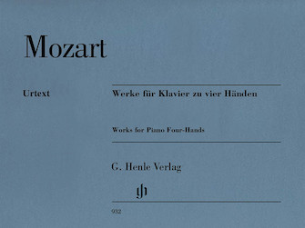 Product Cover for Works for Piano Four-Hands