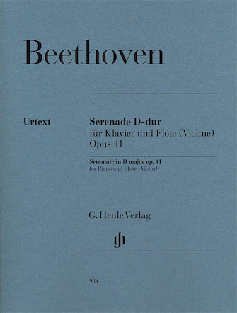 Product Cover for Serenade in D Major Op. 41