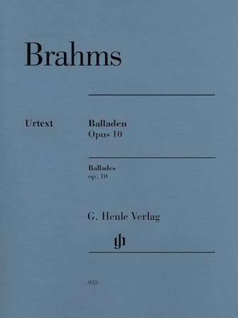 Product Cover for Ballades, Op. 10