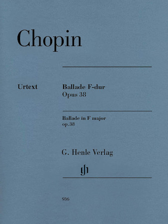 Product Cover for Ballade in F Major, Op. 38